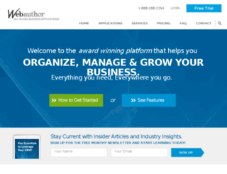 dev.careerworkspace.com screenshot