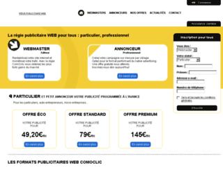 dev.comoclic.com screenshot
