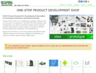 dev.designcircuitworks.com screenshot