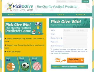 dev.fanpredictionleague.com screenshot