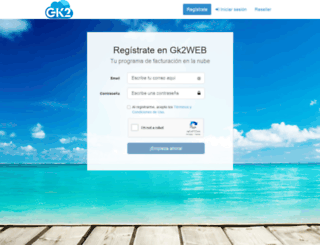 dev.gk2web.com screenshot