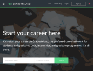 dev.graduateland.com screenshot