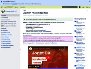 dev.joget.org screenshot