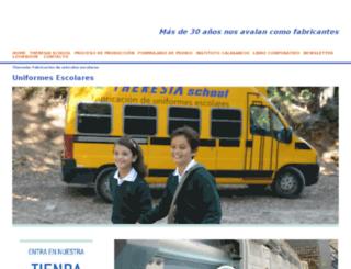 dev.theresia.es screenshot