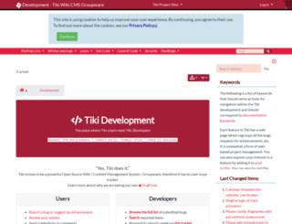 dev.tiki.org screenshot