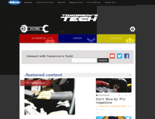 dev.tomorrowstechnician.com screenshot