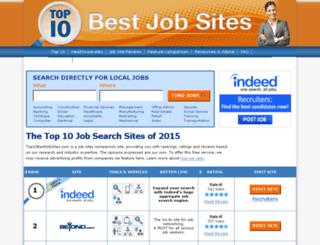 dev.top10bestjobsites.com screenshot