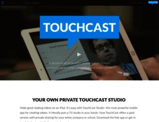 dev.touchcast.com screenshot