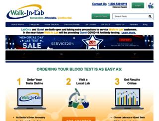 dev.walkinlab.com screenshot