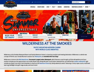 dev.wildernessatthesmokies.com screenshot