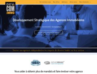 dev2com.fr screenshot