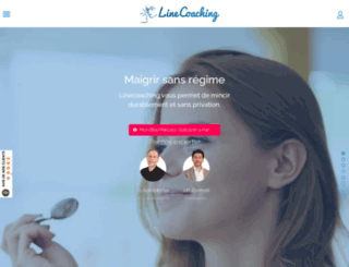 dev4.linecoaching.com screenshot