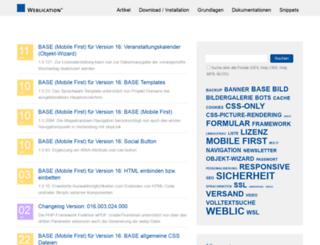 dev4.weblication.de screenshot