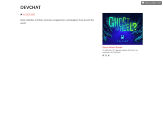 devchat.itch.io screenshot