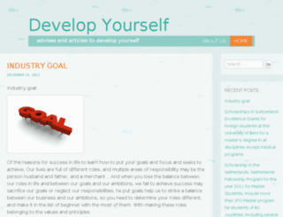 develop-urself.com screenshot