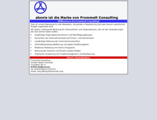 develop.abonis.de screenshot