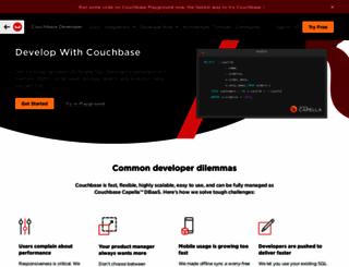 developer.couchbase.com screenshot