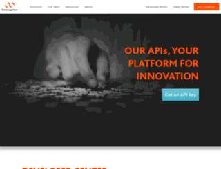 developer.currencycloud.com screenshot
