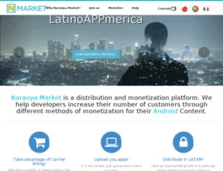 developer.naranya.com screenshot