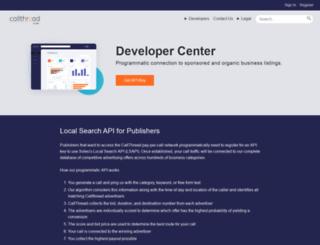 developer.soleo.com screenshot