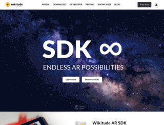 developer.wikitude.com screenshot