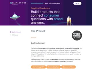 developers.engagor.com screenshot