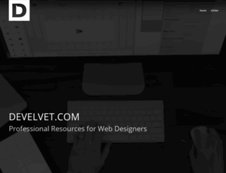develvet.com screenshot
