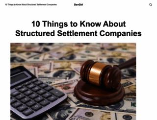 devgirl.org screenshot