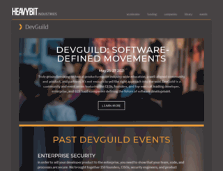 devguild.heavybit.com screenshot
