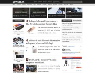 devicebar.com screenshot