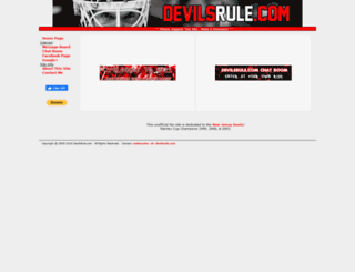 devilsrule.com screenshot