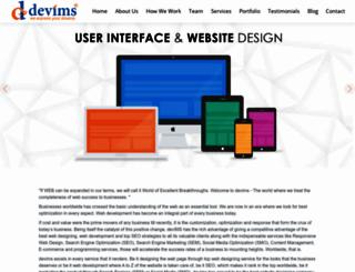 devims.com screenshot