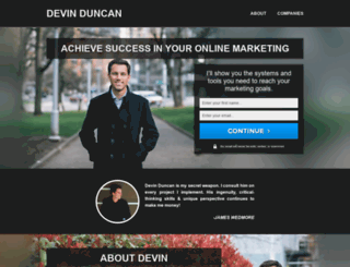 devinduncan.com screenshot