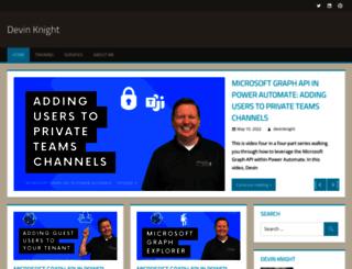 devinknightsql.com screenshot