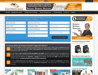 devis-diagnostics-maisons.fr screenshot