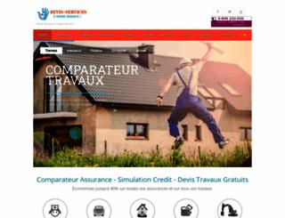 devis-services.fr screenshot