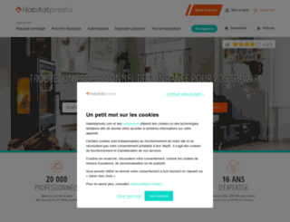 devispresto.fr screenshot
