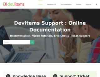 devitems.org screenshot