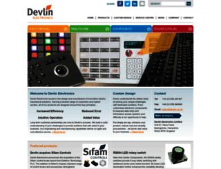 devlin.co.uk screenshot