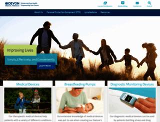 devonmedicalproducts.com screenshot
