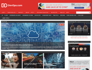 devops.com screenshot