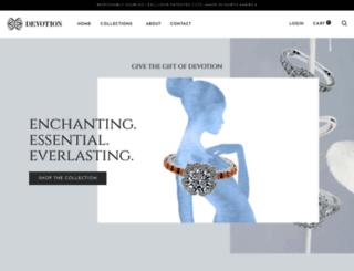 devotiondiamonds.com screenshot