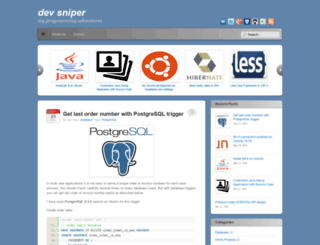 devsniper.com screenshot