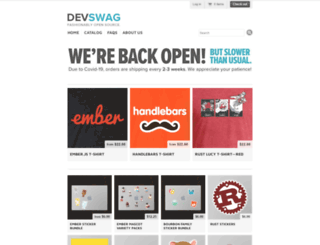devswag.com screenshot