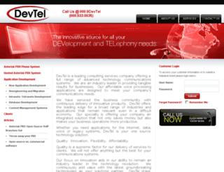devtel.net screenshot