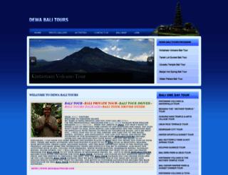 dewabalitours.com screenshot
