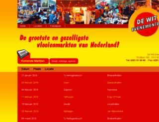 dewitevenementen.nl screenshot
