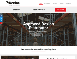 dexion-anglia.co.uk screenshot
