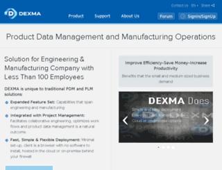 dexma-plm.com screenshot