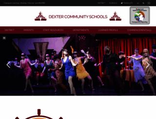 dexterschools.org screenshot